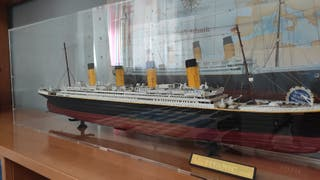 Maqueta Titanic 1:250