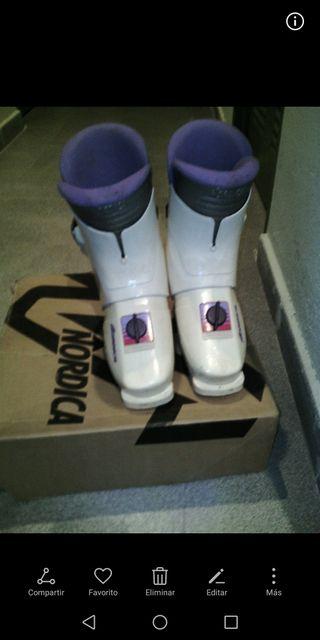 botas de esquí, talla 38