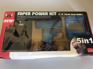 Kit para Game Boy en caja