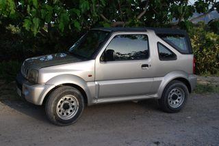 Suzuki Jimny 2002, 4x4, con remolque
