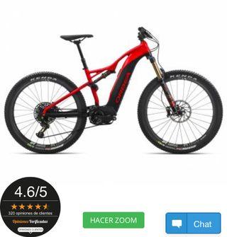 Bici electrica Orbea WILD FS10 27,5 a estrenar!!!