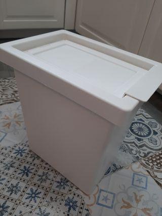 Cubo Papelera Ikea color blanco