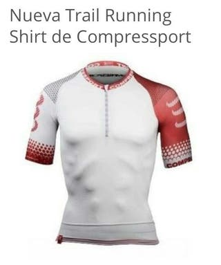 Camiseta compresion COMPRESSPORT talla M