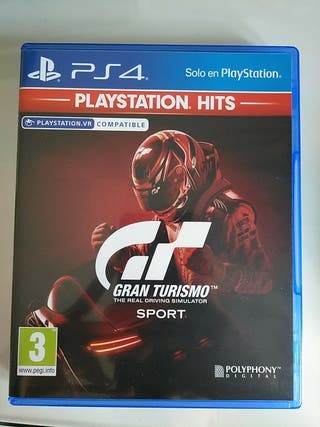 Videojuego Gran Turismo SPORT.