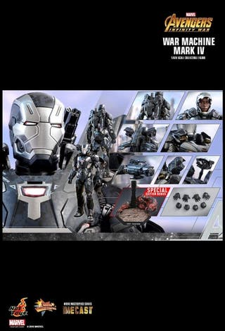 hot toys war machine IW special edition