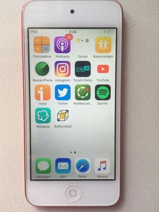 iPod touch 5Gen. Edición rojo