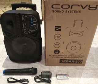 Altavoz portátil Sound system Corvy Urban-800