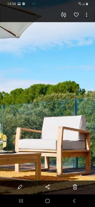 Sofá Sillón Mueble Jardín Terraza
