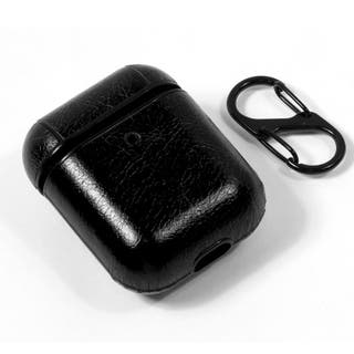 Funda Soft Apple Airpods (Leather Negro)