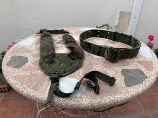 Ceñidor y trinchas ejército/airsoft