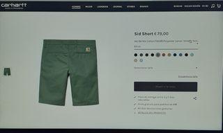 Pantalones cortos Carhartt