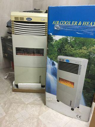 Radiador/ Ventilador para frío y calor