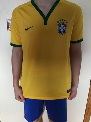 Camiseta oficial de Brasil