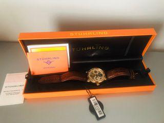 Reloj NUEVO marca Stuhrling suizo