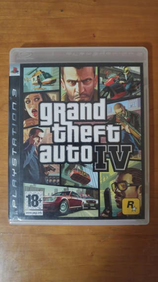 Grand Theft Auto IV PS3 PlayStation3 videojuegos