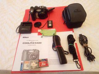 cámara digital Nikon coolpix 5400