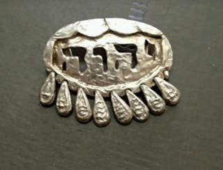 colgante de plata