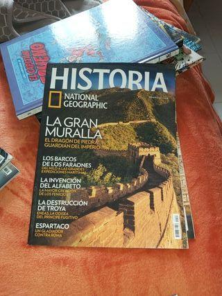 historia national geographic 62 revistas