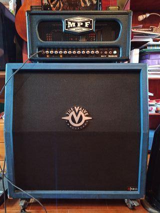Amplificador guitarra (Cabezal+Pantalla Válvulas)