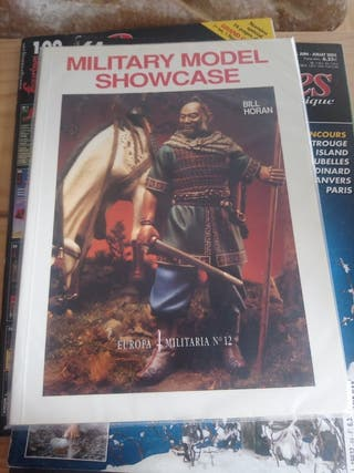 libro bill horan, military model showcase.