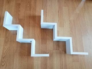 Estanterías zigzag