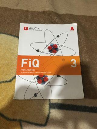 Libro Fisica y Quimica 3ero