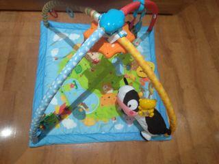 Mantita de juego cantarín 2 en 1 bebé VTECH