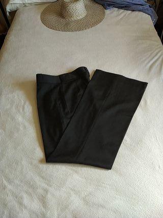 Pantalón Massimo Dutti negro talla 38