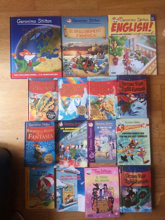 15 libros Gerónimo Stilton