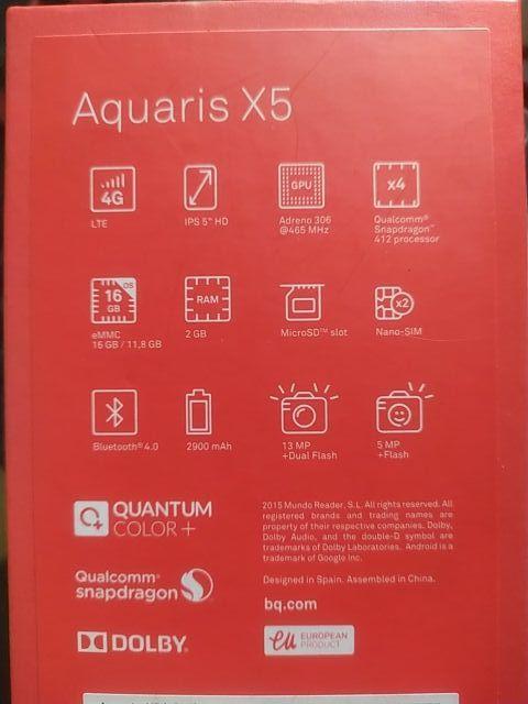 Aquaris X5