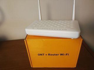 Router ZTE ZXHN F660 fibra Jazztel