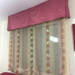 cortinas: estor y panel japones