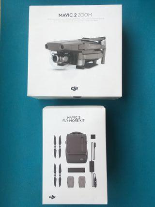 DRONE MAVIC 2 ZOOM + Pack Vuela más (1 batería)