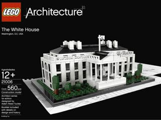 Maqueta MONTADA. Lego Architecture The White House