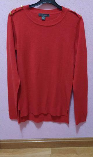 Jersey básico rojo chica Talla XS