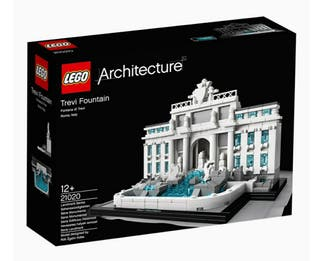 Maqueta Lego Architecture Trevi Fountain