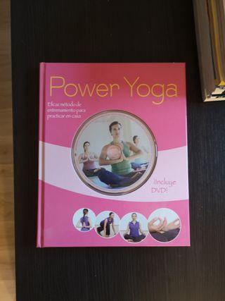 Libro Power Yoga con CD