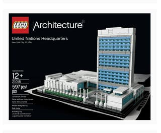 Maqueta Lego Architecture United Nations Headquart