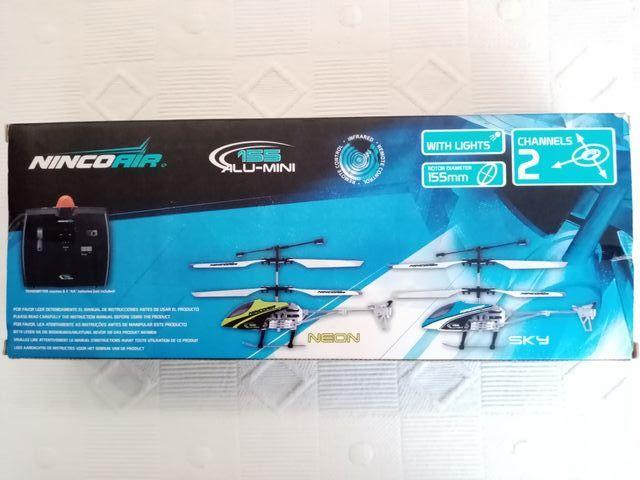Helicóptero NINCO AIR 155 ALU-MINI Dron
