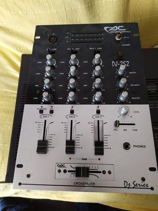Mesa de mezcla AC DJ-252