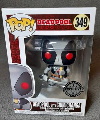 Funko Pop Marvel , Deadpool con Chimichanga