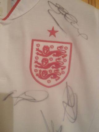 England squad signed shirt 2008