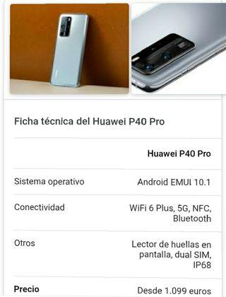 Huawei 40 PRO 5G