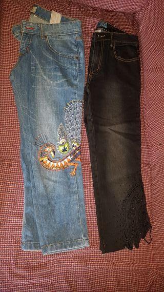 2 Pantalónes de mujer