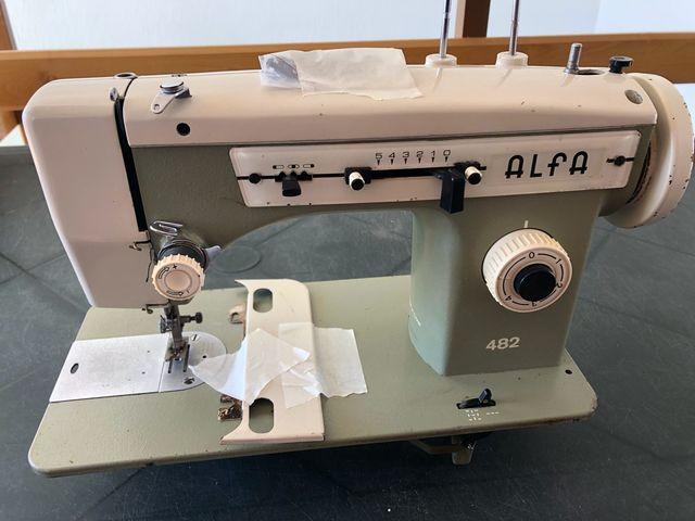 Maquina de coser Alfa 482 de segunda mano por 50 € en