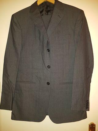Traje chaqueta 3 piezas hombre