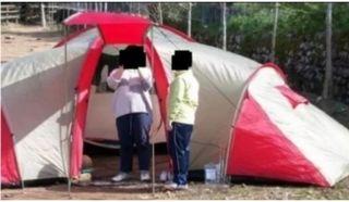 tienda de campaña modelo iglu