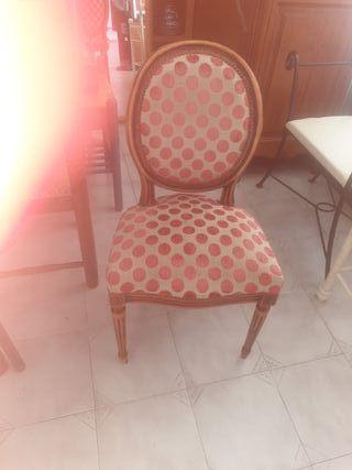 preciosa antigua silla