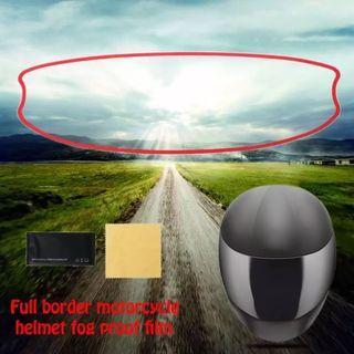 Antivaho para casco de moto