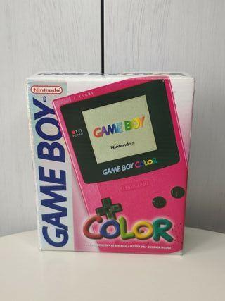 consola Nintendo Game boy color con caja